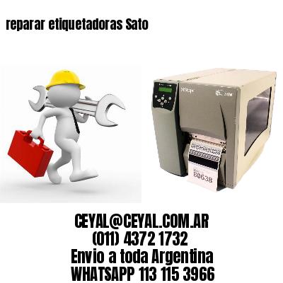 reparar etiquetadoras Sato