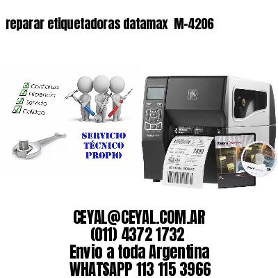 reparar etiquetadoras datamax  M-4206