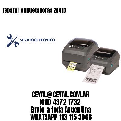 reparar etiquetadoras zd410