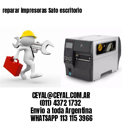 reparar impresoras Sato escritorio
