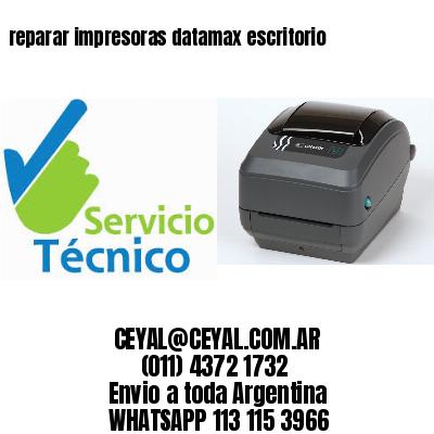 reparar impresoras datamax escritorio
