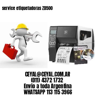 service etiquetadoras ZD500