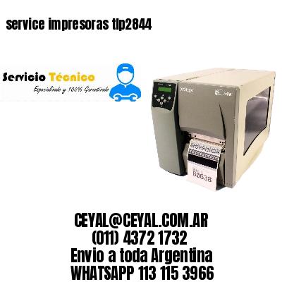 service impresoras tlp2844