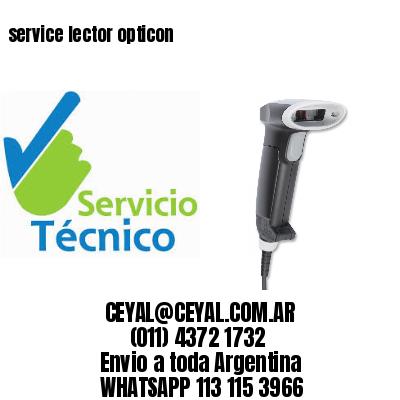 service lector opticon