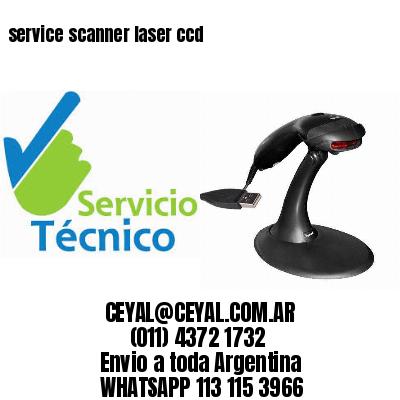 service scanner laser ccd