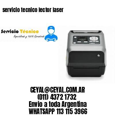servicio tecnico lector laser