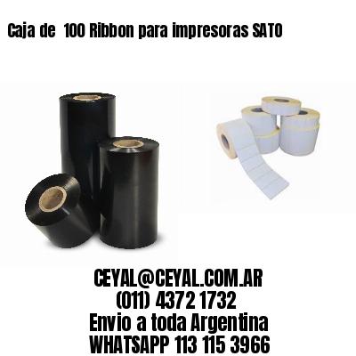 Caja de  100 Ribbon para impresoras SATO