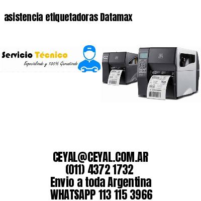asistencia etiquetadoras Datamax