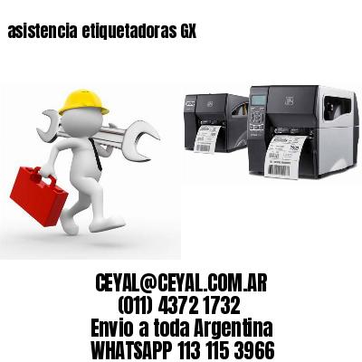 asistencia etiquetadoras GX