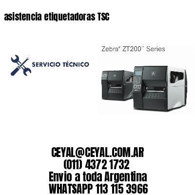 asistencia etiquetadoras TSC