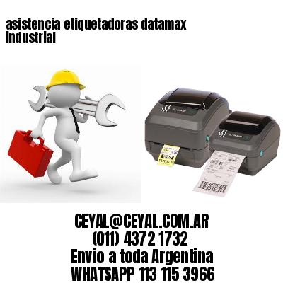 asistencia etiquetadoras datamax industrial