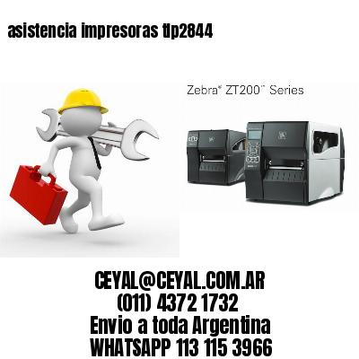 asistencia impresoras tlp2844