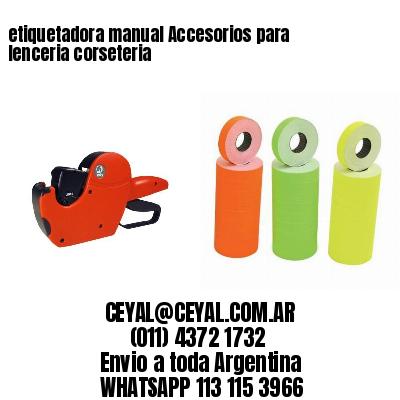 etiquetadora manual Accesorios para lenceria corseteria