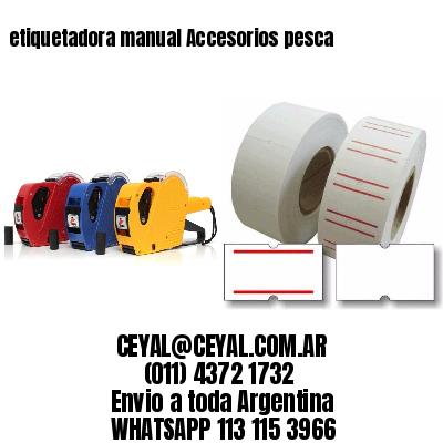 etiquetadora manual Accesorios pesca