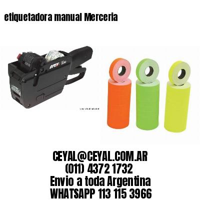 etiquetadora manual Merceria