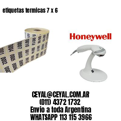 etiquetas termicas 7 x 6