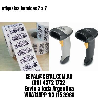 etiquetas termicas 7 x 7