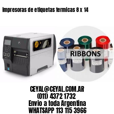 impresoras de etiquetas termicas 8 x 14