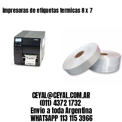 impresoras de etiquetas termicas 8 x 7