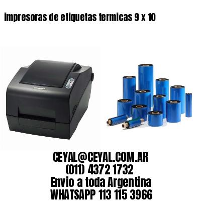impresoras de etiquetas termicas 9 x 10