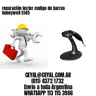 reparación lector codigo de barras honeywell 5145