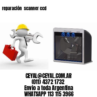 reparación  scanner ccd