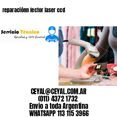 reparaciónn lector laser ccd