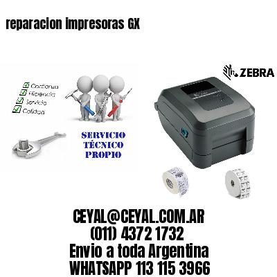reparacion impresoras GX