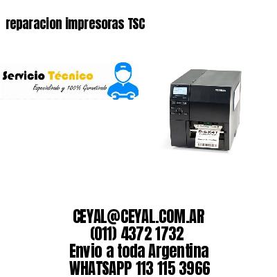 reparacion impresoras TSC