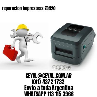 reparacion impresoras ZD420