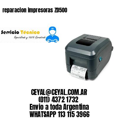 reparacion impresoras ZD500
