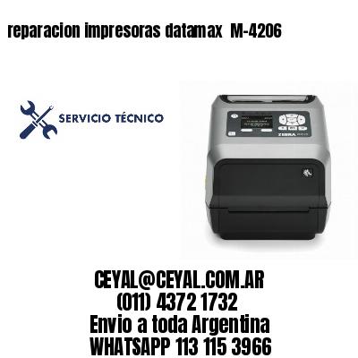 reparacion impresoras datamax  M-4206