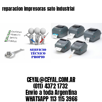 reparacion impresoras sato industrial