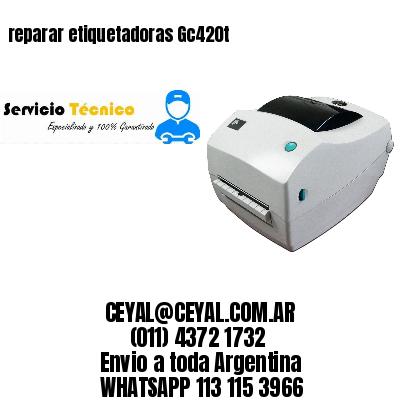 reparar etiquetadoras Gc420t