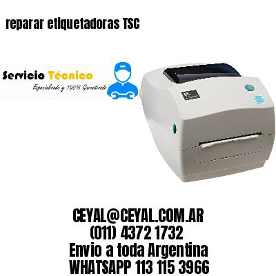 reparar etiquetadoras TSC