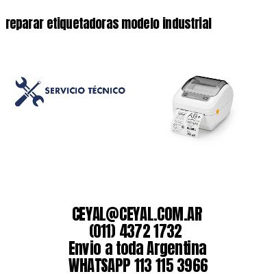 reparar etiquetadoras modelo industrial