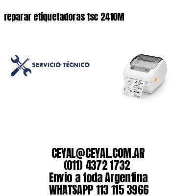 reparar etiquetadoras tsc 2410M