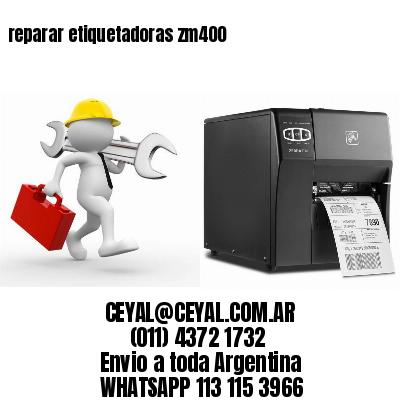 reparar etiquetadoras zm400