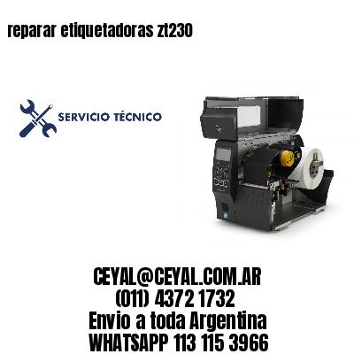 reparar etiquetadoras zt230