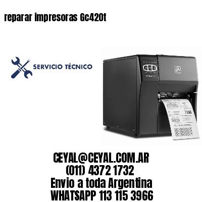 reparar impresoras Gc420t