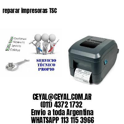 reparar impresoras TSC