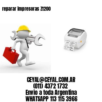 reparar impresoras Zt200