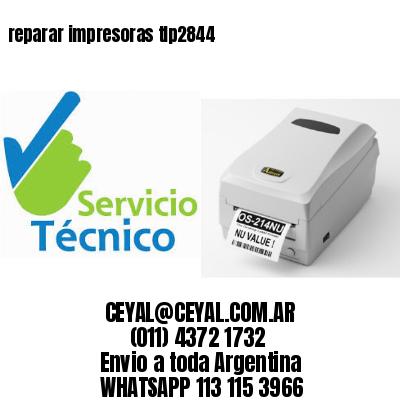 reparar impresoras tlp2844