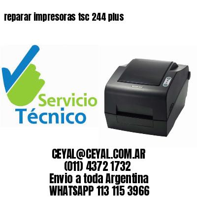 reparar impresoras tsc 244 plus