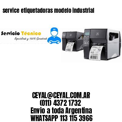 service etiquetadoras modelo industrial