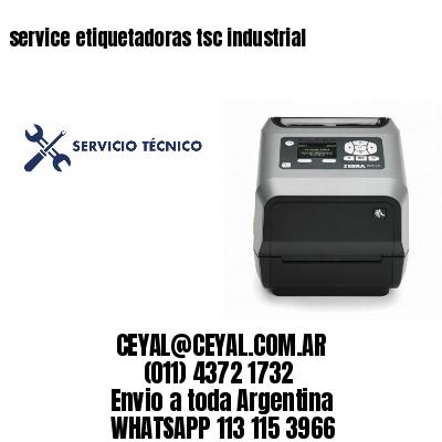 service etiquetadoras tsc industrial