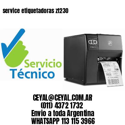 service etiquetadoras zt230