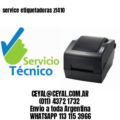service etiquetadoras zt410