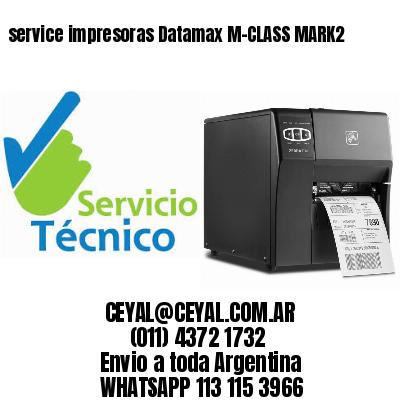 service impresoras Datamax M-CLASS MARK2