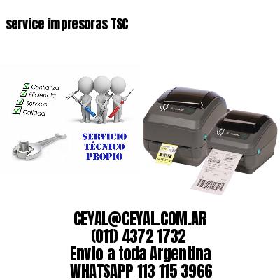 service impresoras TSC